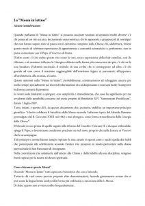 thumbnail of Considerazioni sulla Messa in latino