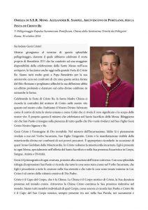 thumbnail of Omelia di S.E.R. Alexander Sample – Festa di Cristo Re – V Pellegrinaggio Summorum Pontificum